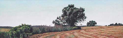 Marsh 3, Painting by Mary Baker
