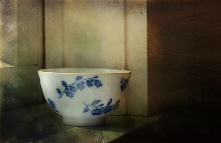 Bowl by Window, digital image by Mary Baker