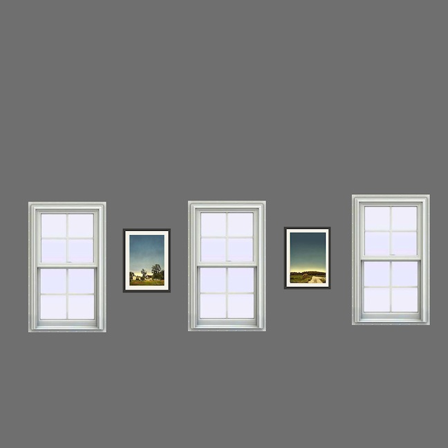 Digital images between windows