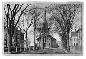 Brown Square, courtesy of the Newburyport Library