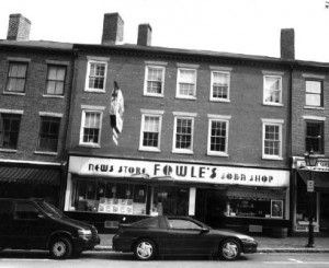 Fowles News Store and Soda Shop (photo courtesy of the City of Newburyport)
