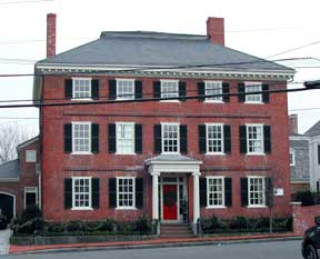 The William Bartlett House, part of the Federal Street Overlay