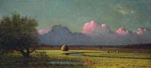 Sunlight and Shadow: The Newbury Marshes (c. 1871-1875) Martin Johnson Heade
