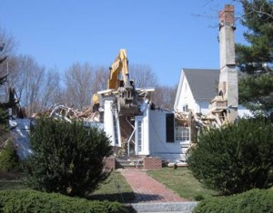 Destruction of The Tappan House, 1 Little's lane
