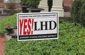YES! LHD (Newburyport's proposed Local Historic District)