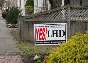 Yes! LHD, Support a Local Historic District
