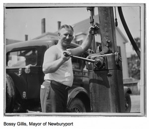Bossy Gillis, Mayor of Newburyport, Courtesy of the Boston Public Library, Leslie Jones Collection, press image to enlarge
