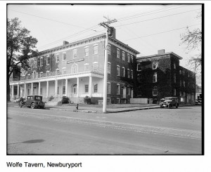 Wolfe Tavern, Photo of the Boston Public Library, Print Department, press to enlarge