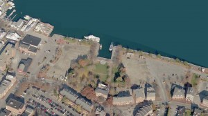 NRA lots, aerial view, courtesy of the NRA, press image to enlarge