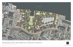 NRA site plan, aerial view, courtesy of the NRA. Press image to enlarge.