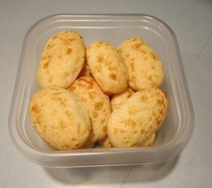 Tiny loaves in container ready to freeze (press image to enlarge)
