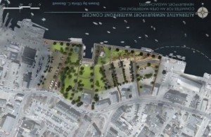 Citizen's for an Open Waterfront's (COW) alternative plan