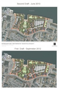A comparison of the NRA Waterfront plans. (Press image to enlarge.)