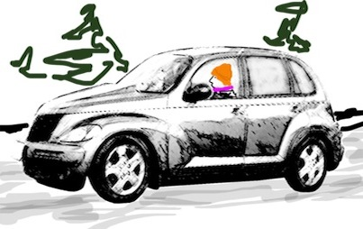 Driving Gurtrude