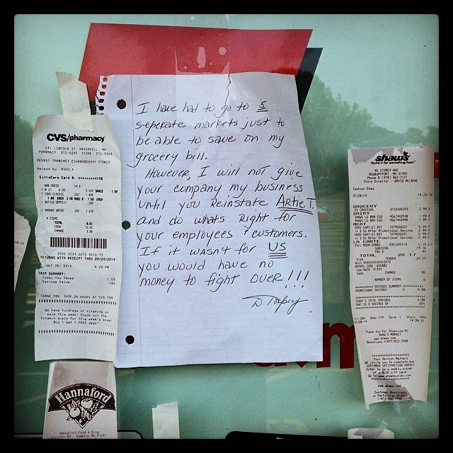 A heartfelt letter from a customer