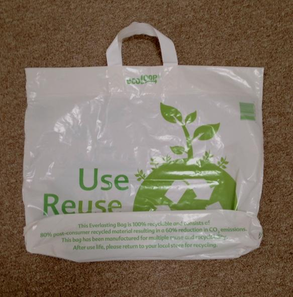 New plastic bag from Market Basket