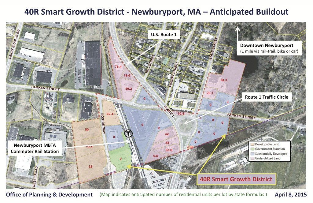 Smart Growth 40R map