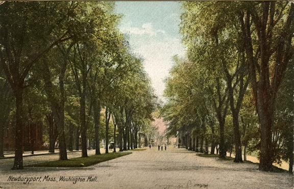 Newburyport Mall, postcard