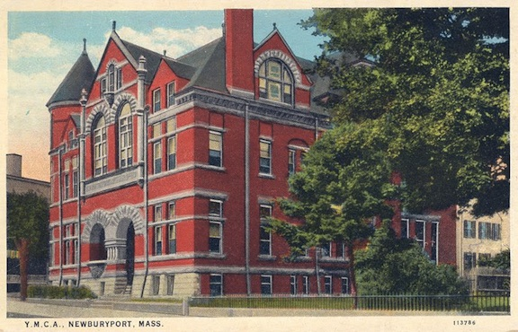 YMCA Newburyport, postcard