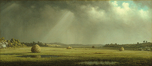 Newburyport Meadows, ca. 1876–1881 Martin Johnson Heade