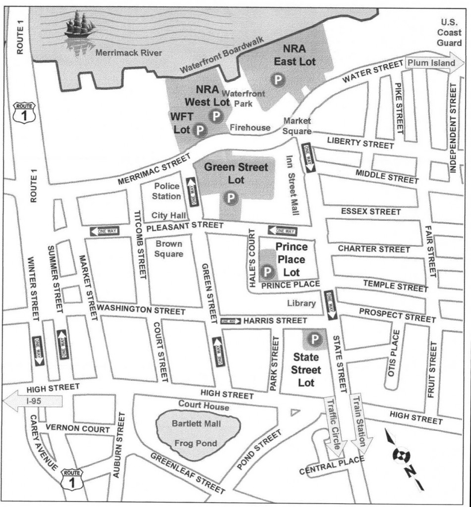 Newburyport Parking Map