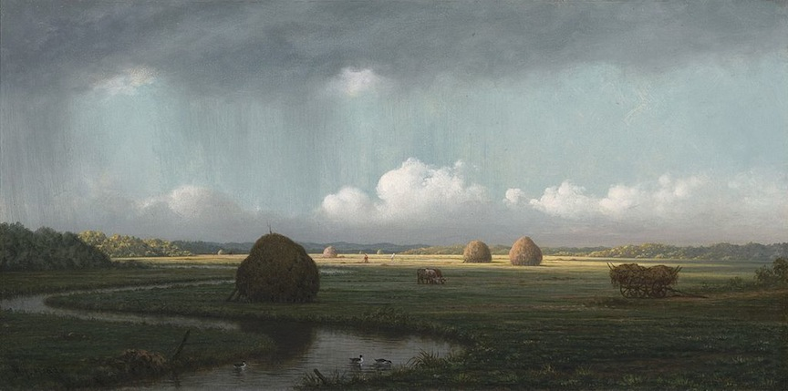 Martin Johnson Heade, Sudden Showers, Newbury Marshes, c. 1865-1875