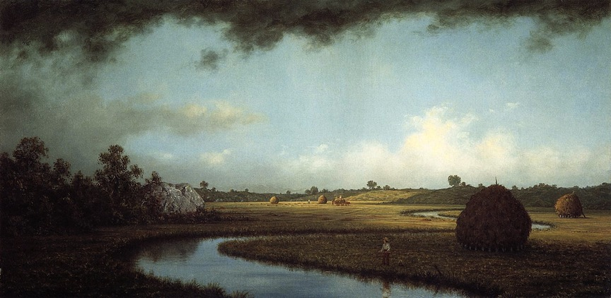 Martin Johnson Heade, Newburyport Marshes: Approaching Storm, c.1871