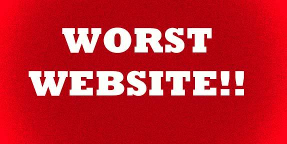 Worst Website--RoadSnacks