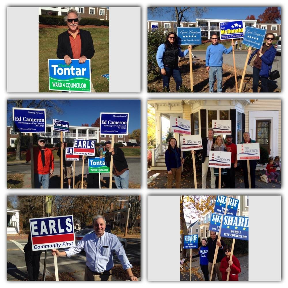 Newburyport Election Day 2015