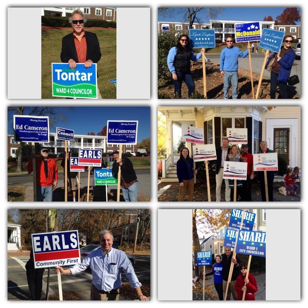 Newburyport Election Day 2015