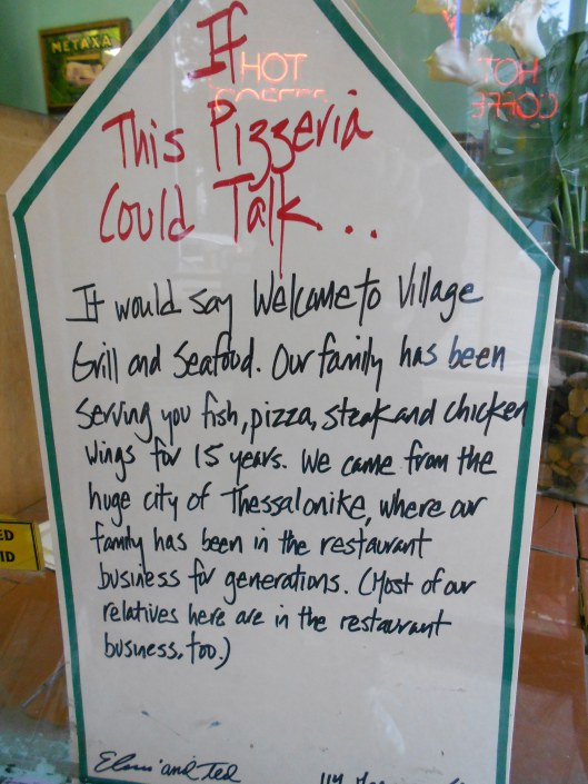 An example of a sign for Walk Newburyport, If This House Could Talk