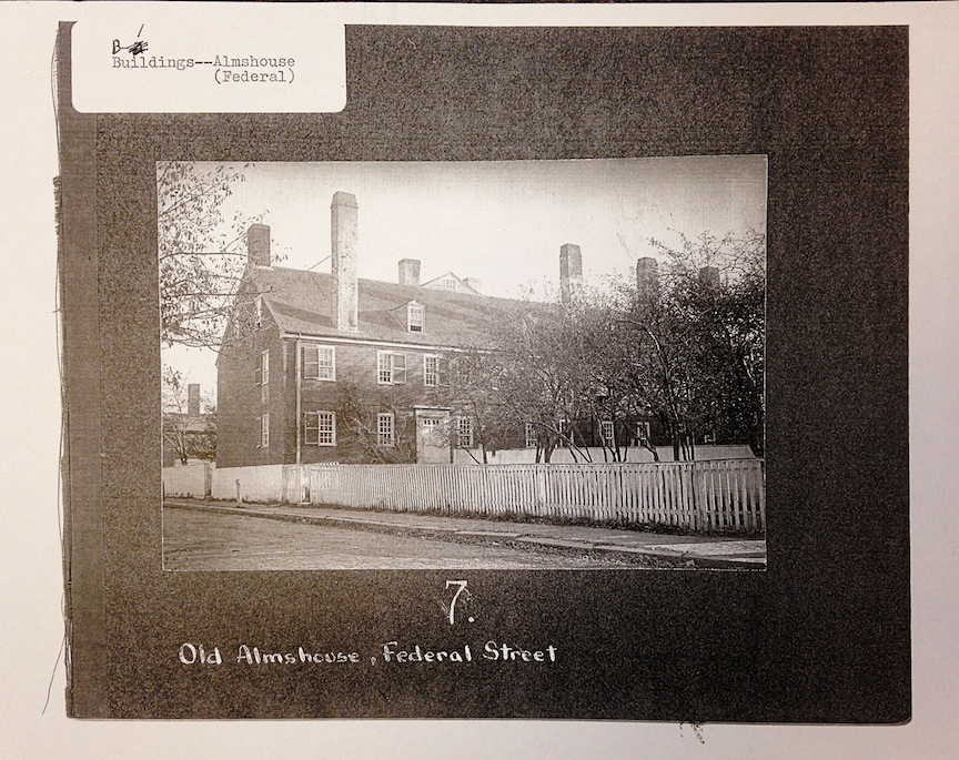 The old Almshouse, built in 1794, Newburyport, MA