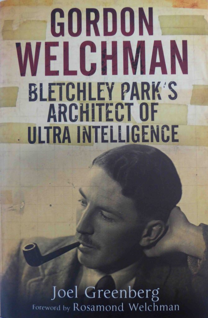 Book on Gordon Welchman