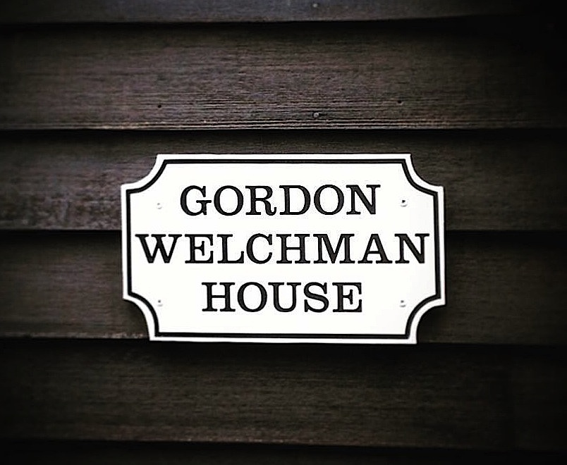 Plaque for Gordon Welchman on 167 Water Street