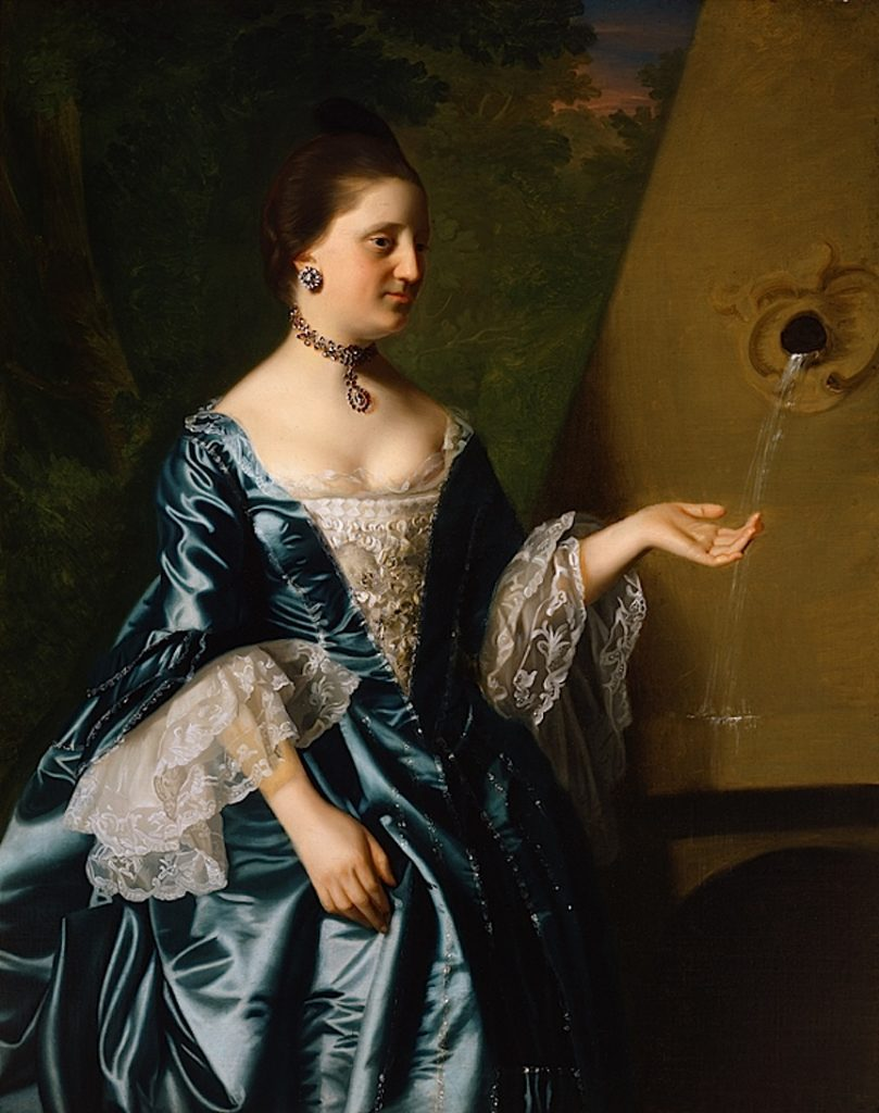 Portrait of Alice Hooper, 1763, by John Singleton Copley