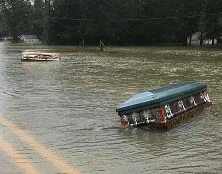 Louisiana Flooding 2016, photo from the Cajun Navy 2016