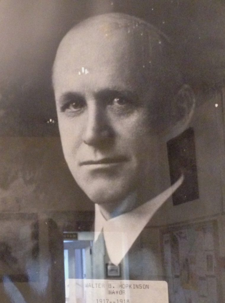 Portrait of Walter B. Hopkinson at Newburyport City Hall