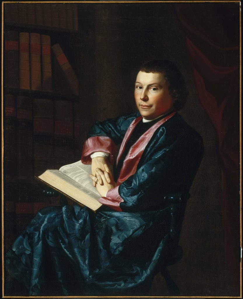 Reverend Thomas Cary of Newburyport, 1770–1773 by John Singleton Copley, the Museum of Fine Arts, Boston