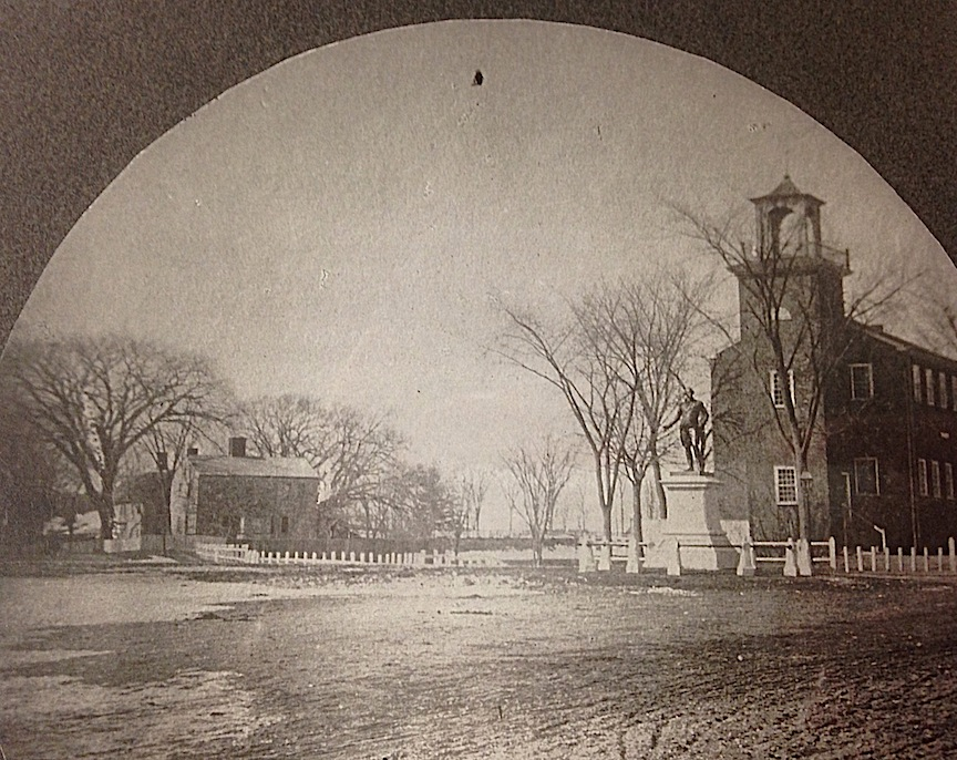 The School House and Pond Street, Bartlet Mall, Newburyport, MA