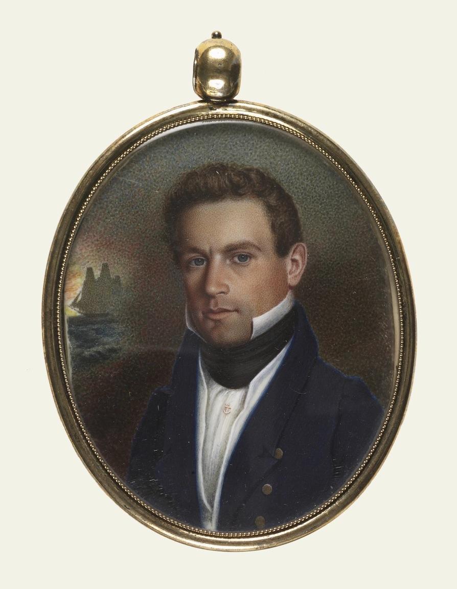 Captain John Robinson of Newburyport, MA, , Courtesy of The Walters Art Museum, Baltimore, MD